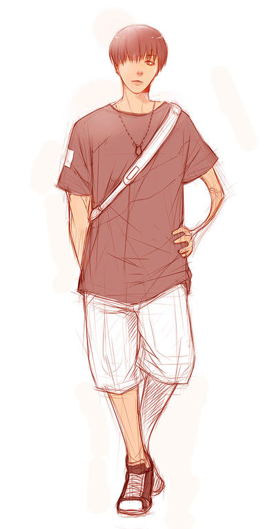 Coffeebreak Sketches - Sporty Hyung