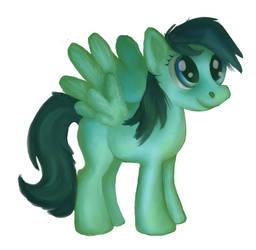 background pony painting practice