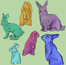 rabbits or somet hing