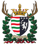 Personnal coat of arms (House of Chabrand) by ImDeadPanda