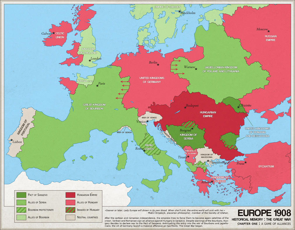Europe 1908 the great war by imdeadpanda on deviantart europe 1908 the great war by imdeadpanda gumiabroncs Gallery