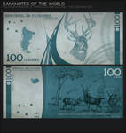 Banknotes of the World : 100 Patagon Coronas