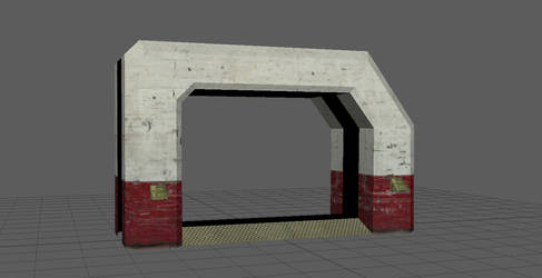 DoorFrame Textured by Saican