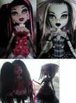 Monster high customised dolls