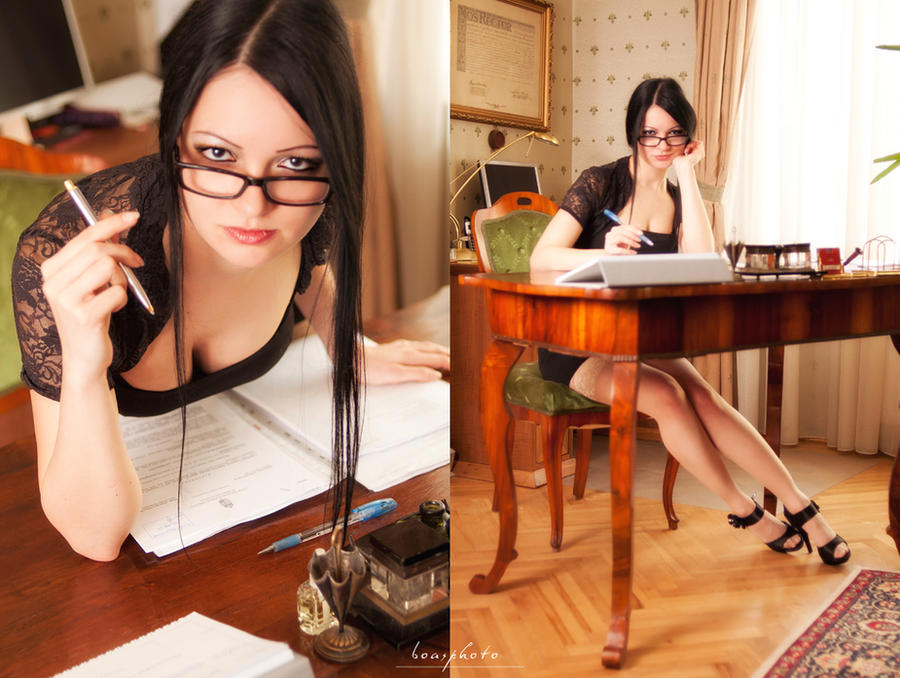 sexy secretary 03 by Boas73
