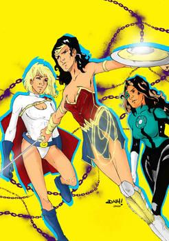 Wonderwoman Powergirl GL