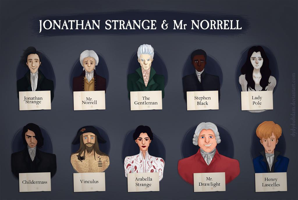"""Vaizdo rezultatas pagal užklausą """"Jonathan Strange & Mr. Norrell"""""""