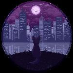 city nights, city lights || F2U