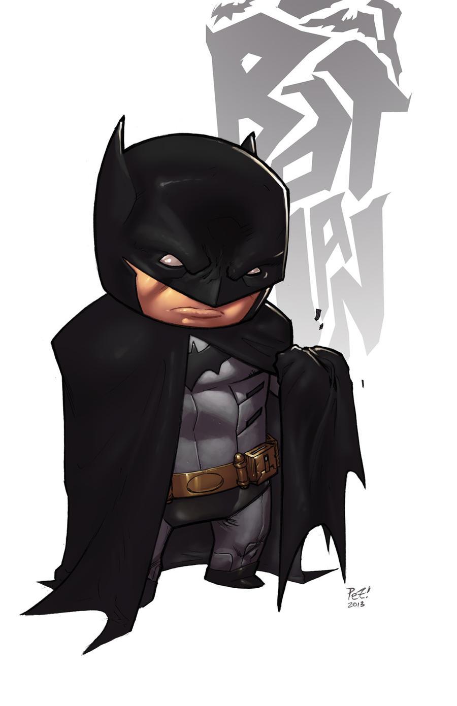 Stubbie Bats Standin' COLORED by 1pez
