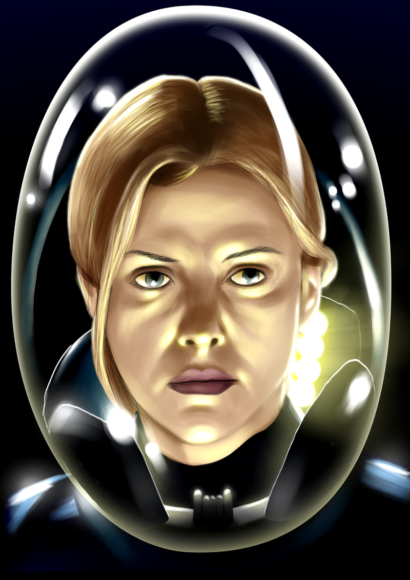 Charlize Theron as Vickers in Prometheus