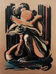 Cardiac massage (Winnie and Christopher Robin)