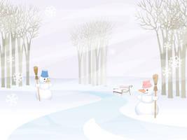 Ladies Winter by sonsunbl4