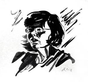 Sketch of Lena # 4