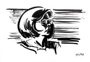Sketch of Lena # 3