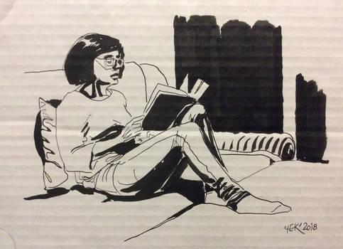 Sketch of Lena # 1