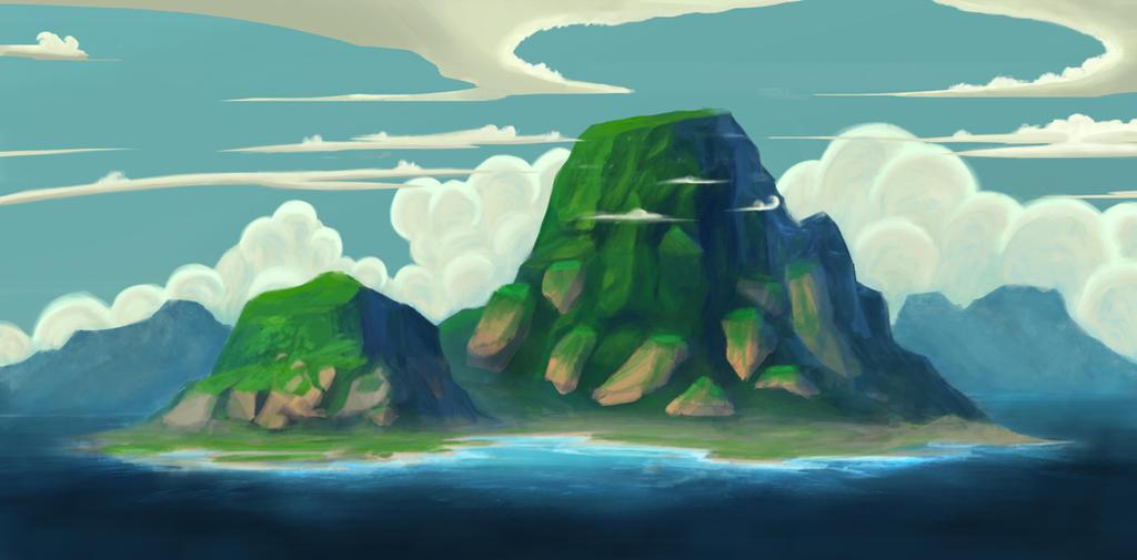 Island by ky-hikka