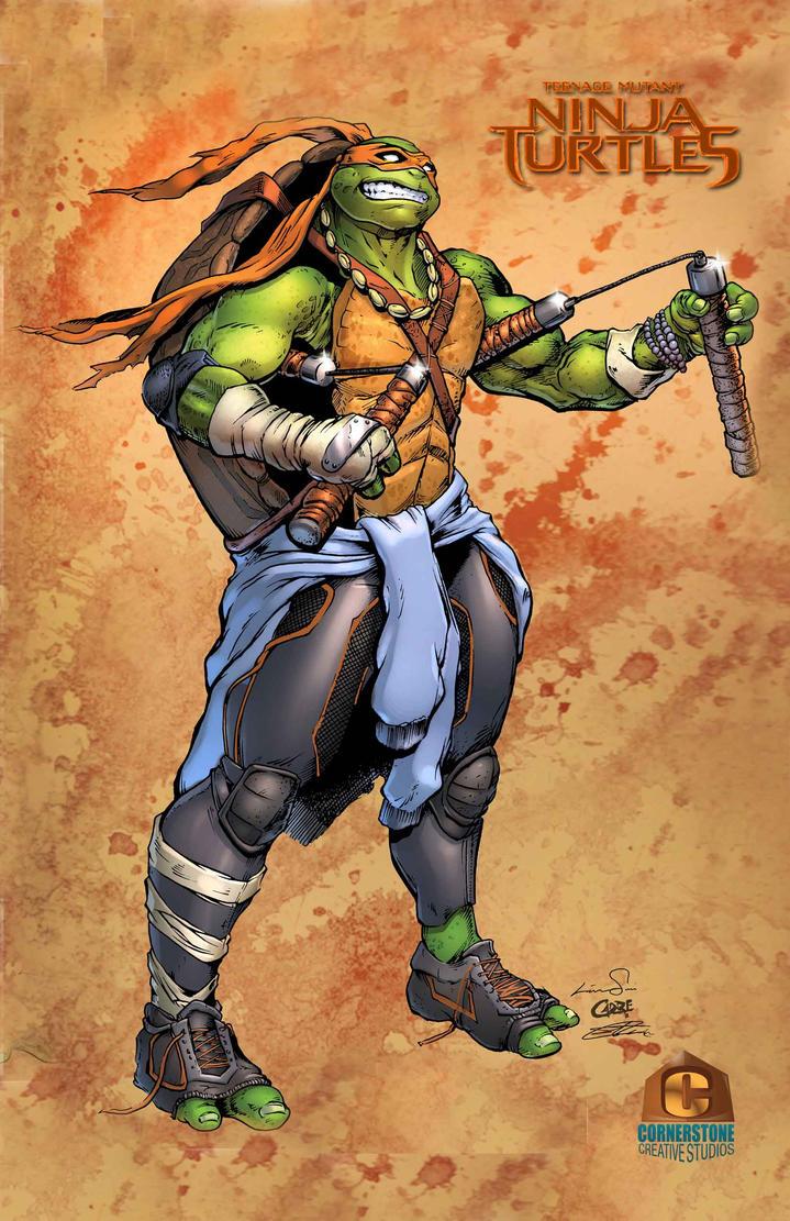 Michaelangelo of the Teenage Mutant Ninja Turtles by Cadre