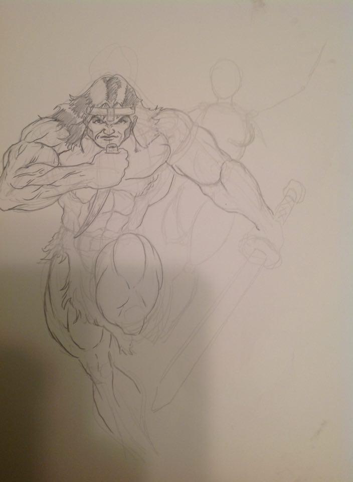 Conan work in progress by Cadre