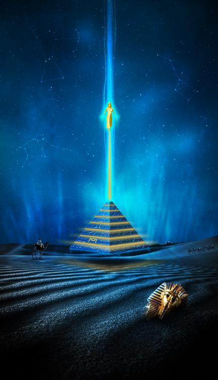 Temple of Nebu by TheAlteredPixel