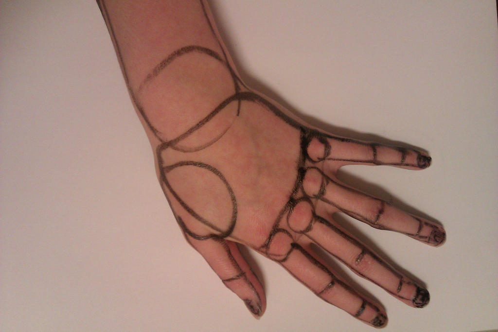 Other side of my hand by HowToDrawing