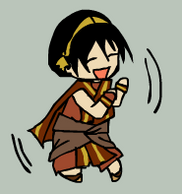 Dancey Toph by Oukami666