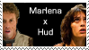 MARLENAxHUD stamp by Oukami666