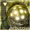 Mr. Bubbles by Oukami666