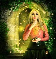 Key to the secret door by Lady-Vilna