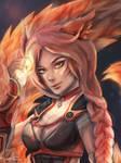 Foxfire Ahri by Enarten