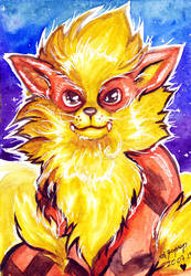 Pokemon - Arcanine by AtraElegie