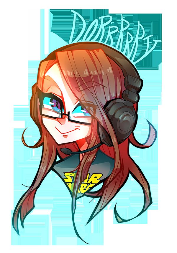 gamer girl by zukich on DeviantArt