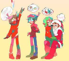 merry xmas by zukich