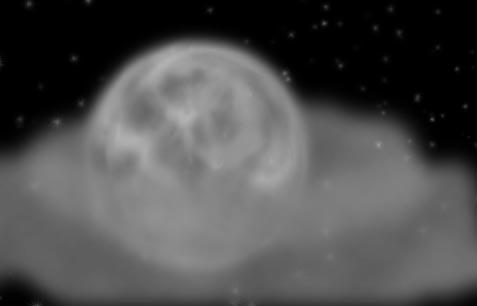 Moon by Sorrowen