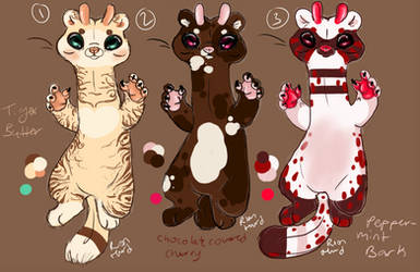 Early Holiday Adopts!!! by riokqueen