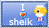 sheik stamp by sheik-fanclub