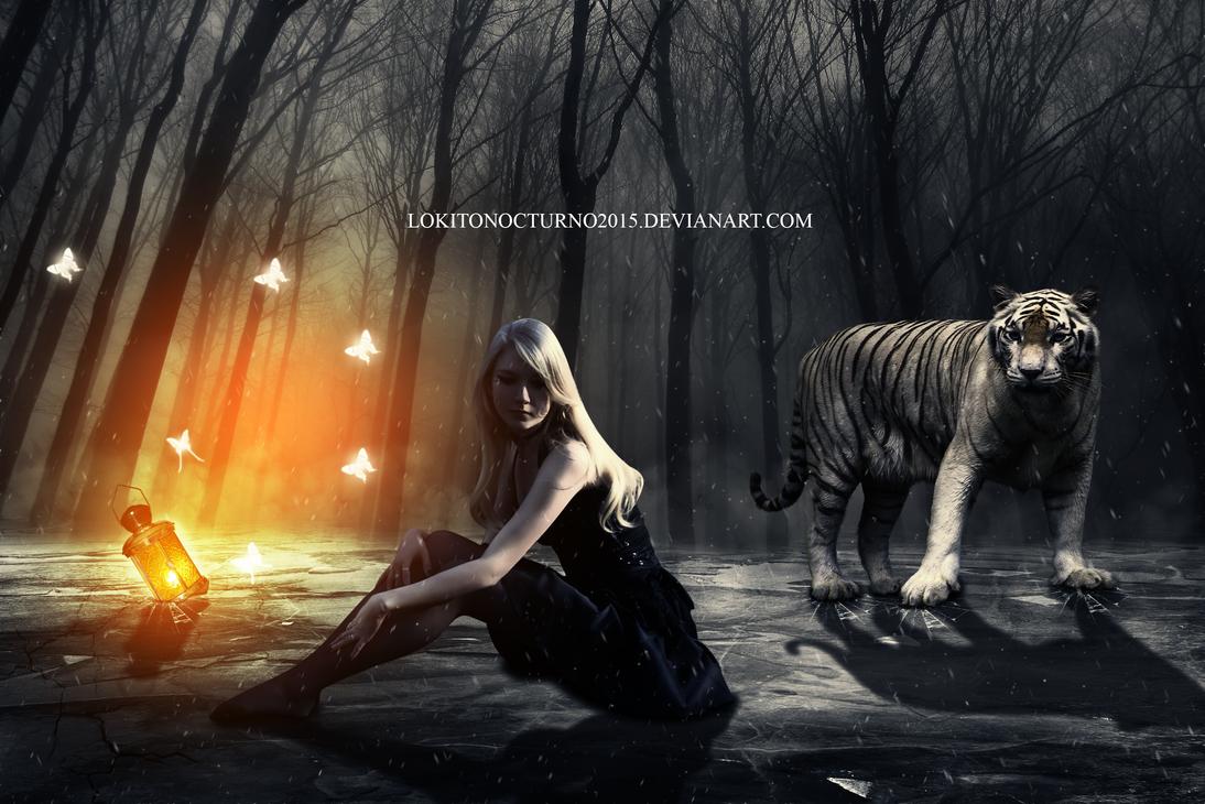 tiger by LOKITONOCTURNO2015