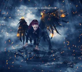 angel warrior by LOKITONOCTURNO2015