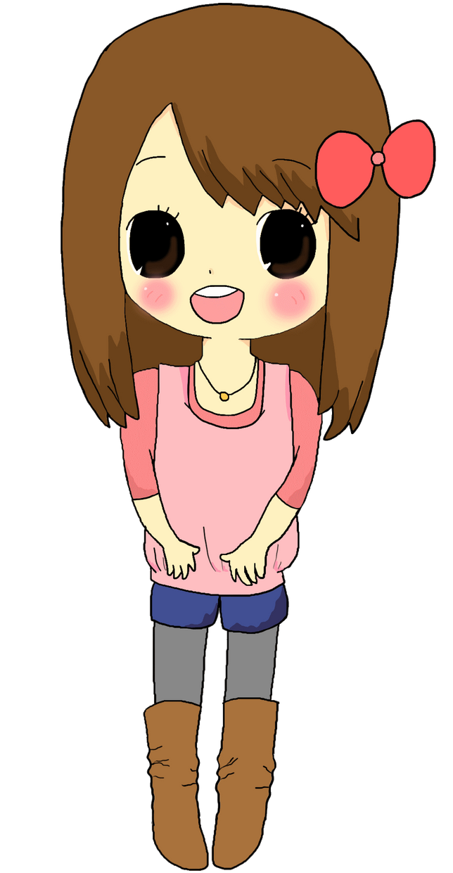 It's just a photo of Inventive Chibi Style Drawing