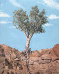 Just a tree - Oil painting