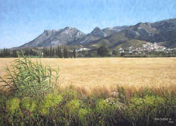 Tetuan mountains 2 by Ben-Seffaj