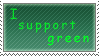 I support green stamp by Queen-of-Ice-Heart