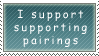 I support supporting pairings by Queen-of-Ice-Heart