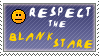 Respect the Blank Stare  stamp by Queen-of-Ice-Heart