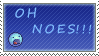 Oh noes  stamp by Queen-of-Ice-Heart