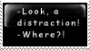 Distraction stamp by Queen-of-Ice-Heart