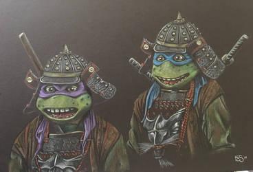 Samurai Leo and Don