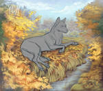 YCH OPEN golden autumn by ClamorTenebre