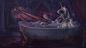 Completed ych bathroom in the castle