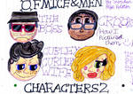 Of Mice and Men Characters 2 (How I picture them.) by badberry123
