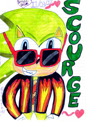 Scourge the Hedgehog! :)